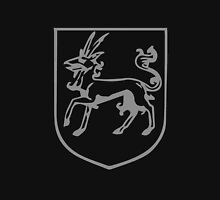 A Complete Guide to Heraldry - Figure 393 — Heraldic antelope passant Unisex T-Shirt