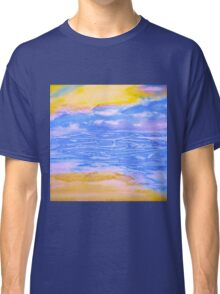 Atmospheric Layers with Beach Classic T-Shirt