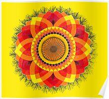 Sun Mandala Poster