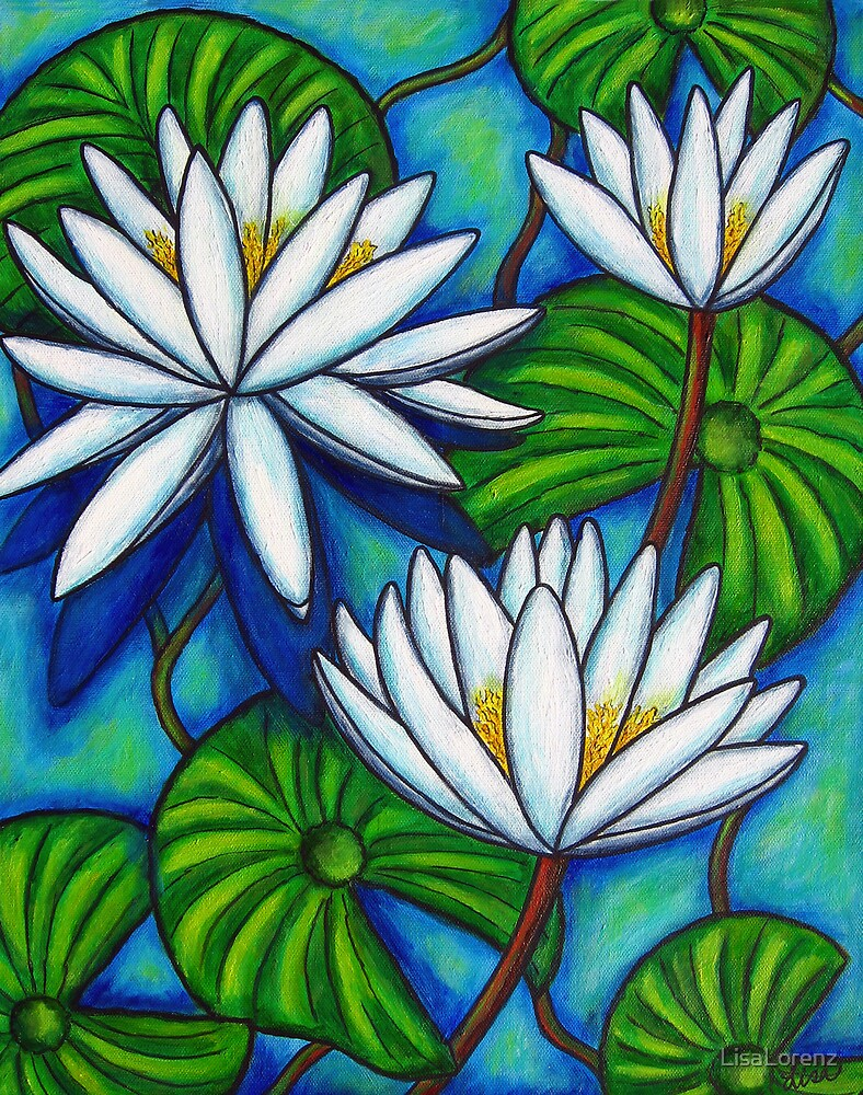 Nymphaea Blue by LisaLorenz