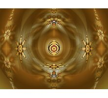 Amber Glow Photographic Print