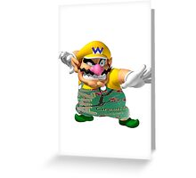 Wario/Yung Lean Greeting Card