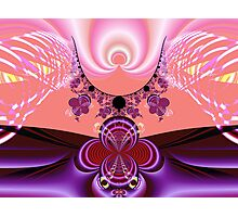 Angel Rays Photographic Print