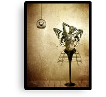 Scream of a Butterfly Canvas Print