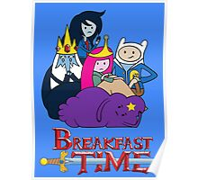 Breakfast Time Poster