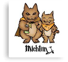Michtim: Hamster-Like Heroes Hoodie Canvas Print