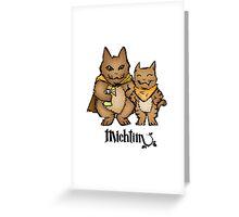 Michtim: Hamster-Like Heroes Hoodie Greeting Card