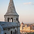 Fisherman's Bastion, Budapest. by FER737NG