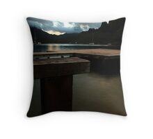 Cooks Bay Evening, Moorea Throw Pillow