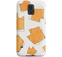 Fox Face Samsung Galaxy Case/Skin