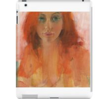 Zoe in acrylic iPad Case/Skin