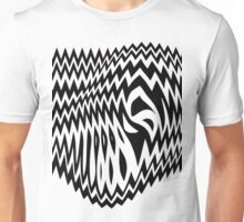 Abstract - negative Unisex T-Shirt
