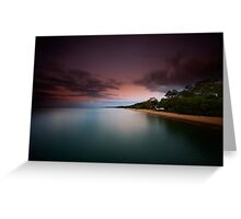 Dusk at Scarness Greeting Card