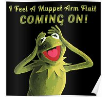 Muppet Arm Flail YAY Poster