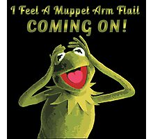 Muppet Arm Flail YAY Photographic Print