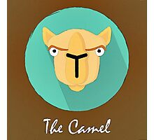 The Camel Cute Portrait Photographic Print