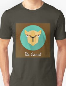 The Camel Cute Portrait T-Shirt