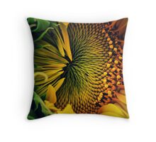 Close Contact Throw Pillow