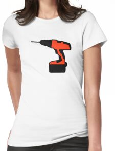 Cordless portable screwdriver Womens Fitted T-Shirt