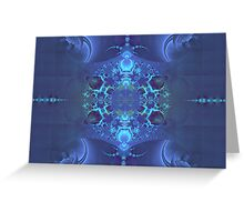 A Shade of Blue Greeting Card