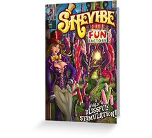 SheVibe Fun Factory Cover Art Greeting Card