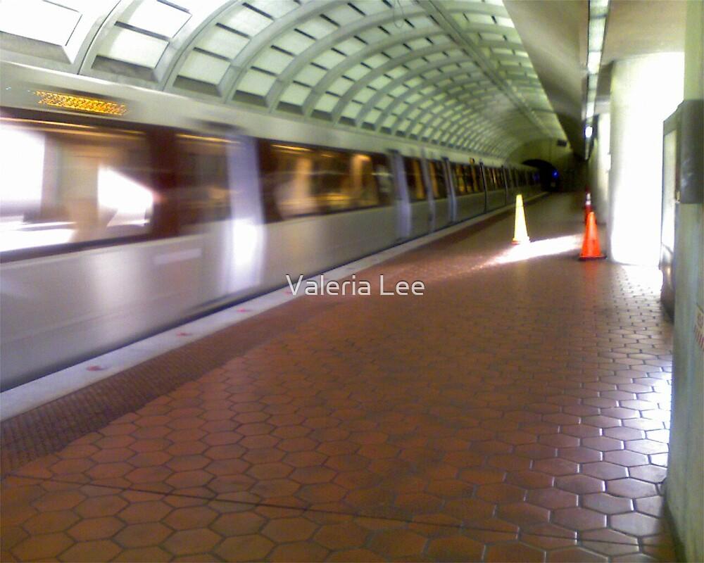 Metro here by Valeria Lee