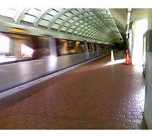 Metro here Photographic Print