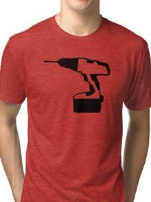 Cordless portable screwdriver Tri-blend T-Shirt