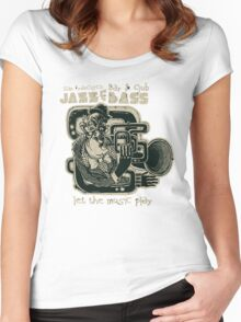 Jazz and Bass Women's Fitted Scoop T-Shirt