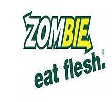 Zombies Eat Flesh by Tscotland
