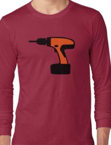 Cordless portable screwdriver Long Sleeve T-Shirt