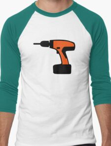 Cordless portable screwdriver Men's Baseball ¾ T-Shirt
