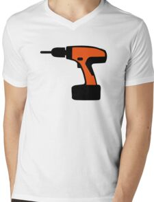 Cordless portable screwdriver Mens V-Neck T-Shirt