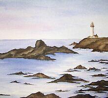 Rocky Shore by Sandi Redding