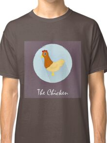 The Chicken Cute Portrait Classic T-Shirt