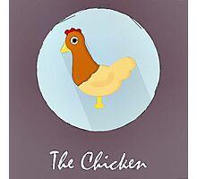 The Chicken Cute Portrait Photographic Print