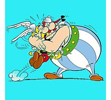 asterix and obelix Photographic Print