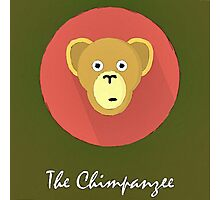 The Chimpanzee Cute Portrait Photographic Print