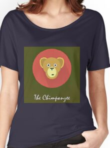 The Chimpanzee Cute Portrait Women's Relaxed Fit T-Shirt