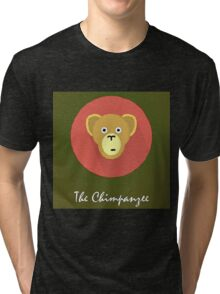 The Chimpanzee Cute Portrait Tri-blend T-Shirt