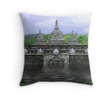 temple (Bali) Throw Pillow