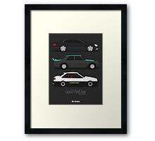 Grand Theft Auto JDM Series Framed Print
