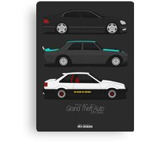 Grand Theft Auto JDM Series Canvas Print