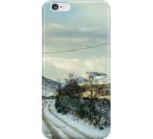 Winter In The Highlands iPhone Case/Skin
