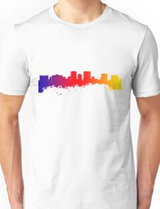 Skyline of El Paso Texas Unisex T-Shirt