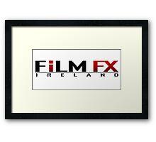 Film FX Ireland - White Framed Print