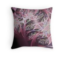 Crimson Bouquet Throw Pillow