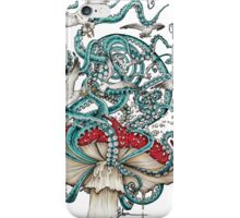Flying The Agaric iPhone Case/Skin