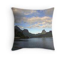 Moorea Morning Throw Pillow