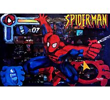 Spider-Man - PixelLust Photographic Print
